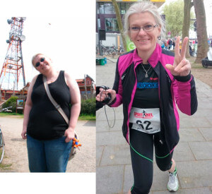 REH vor und nach zwei Jahren Training