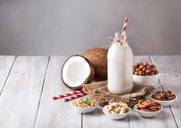 Vegane Milchalternativen im Vergleich – Mandelmilch, Kokosmilch und Mehr