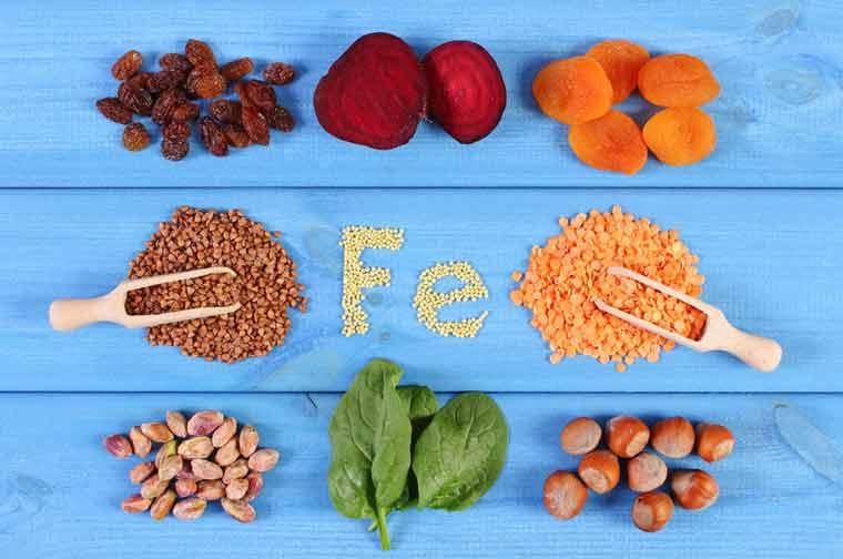 ernährung-bei-anämie-eisenhaltige-lebensmittel