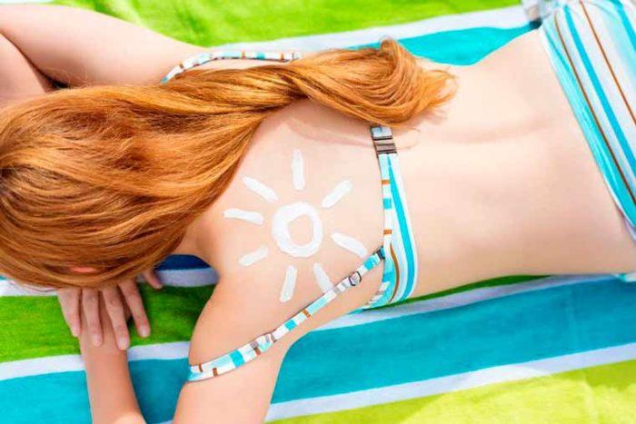 So schützen ihre Haut vor einem Sonnenbrand
